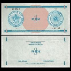 CUBA - Billet de 1 Peso - 1985 Pfx11