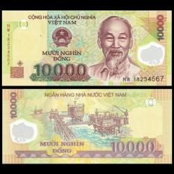 VIETNAM - Billet de 10000 Dong - Polymer - 2018