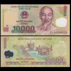 VIETNAM - Billet de 10000 Dong - Polymer - 2006