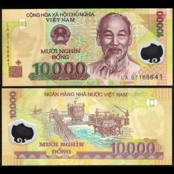 VIETNAM - Billet de 10000 Dong - Polymer - 2007