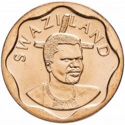 SWAZILAND - PIECE de 10 Cents - Mswati III - Cannes à sucre - 2011