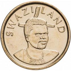 SWAZILAND - PIECE de 1 Lilangeni - Mswati III - Reine mère Ntmobi Tfwala - 2011