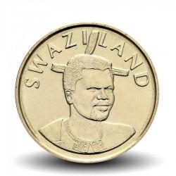 SWAZILAND - PIECE de 1 Lilangeni - Mswati III - Reine mère Ntmobi Tfwala - 2015