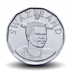 SWAZILAND - PIECE de 10 Cents - Mswati III - Cannes à sucre - 2015