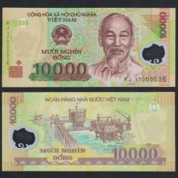 VIETNAM - Billet de 10000 Dong - Polymer - 2017