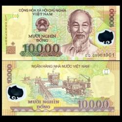 VIETNAM - Billet de 10000 Dong - Polymer - 2008