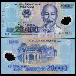 VIETNAM - Billet de 20000 Dong - Polymer - 2012