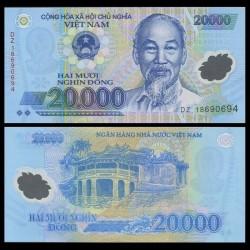 VIETNAM - Billet de 20000 Dong - Polymer - 2016