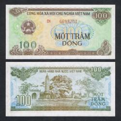 VIETNAM - Billet de 100 Dong - Pagode - 1991
