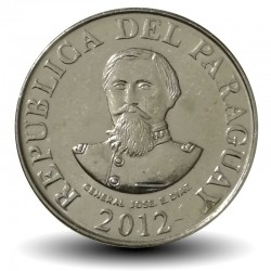 PARAGUAY - PIECE de 100 Guaranies - Général José Eduvigis Díaz - 2012