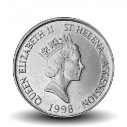 SAINTE-HELENE - PIECE de 5 Cents - Tortue géante - 1998