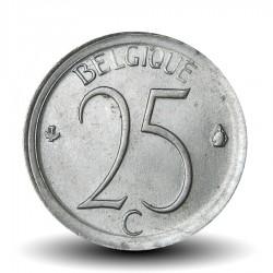 BELGIQUE - PIECE de 25 Centimes - Baudouin Ier - 1974