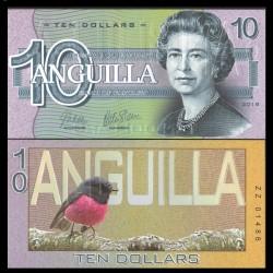 ANGUILLA - Billet de 10 DOLLARS - SERIE OISEAUX - 2019