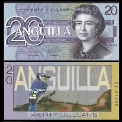 ANGUILLA - Billet de 20 DOLLARS - SERIE OISEAUX - 2019