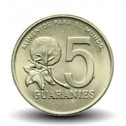 PARAGUAY - PIECE de 5 Guaranies - Paraguayenne - Fao - 1992