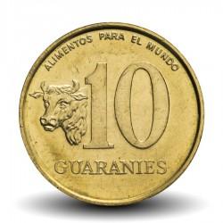PARAGUAY - PIECE de 10 Guaranies - Général Garay - Fao - 1990