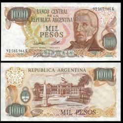 ARGENTINE - Billet de 1000 Pesos - 1980 P304c1