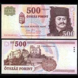 HONGRIE - Billet de 500 Forint - François II Rákóczi - 2010 P196c