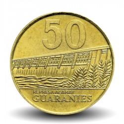 PARAGUAY - PIECE de 50 Guaranies - maréchal José Félix Estigarribia - 1998