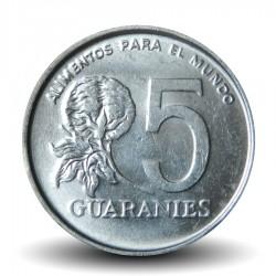 PARAGUAY - PIECE de 5 Guaranies - Paraguayenne - Fao - 1986