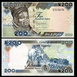 NIGERIA - Billet de 200 Naira - 2017