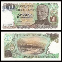ARGENTINE - Billet de 50 Pesos - Termes de Reyes - 1976 / 1983