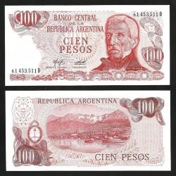 ARGENTINE - Billet de 100 Pesos - 1976 / 1978