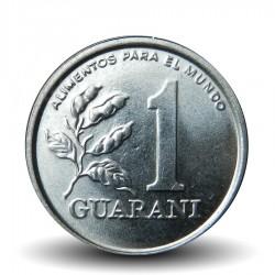 PARAGUAY - PIECE de 1 Guarani - Soldat Paraguayen - Fao - 1986