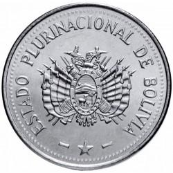 BOLIVIE - PIECE de 10 Centavos - 2017