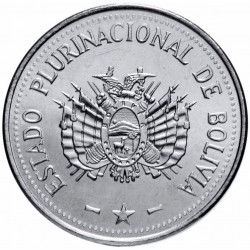 BOLIVIE - PIECE de 10 Centavos - 2017
