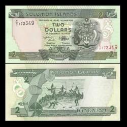 SALOMON (ILES) - Billet de 2 DOLLARS - 1997