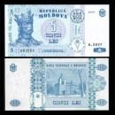 MOLDAVIE - Billet de 5 Lei - 2009