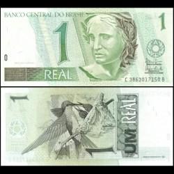 BRESIL - Billet de 1 Real - Colibris - 2003 P243Ag