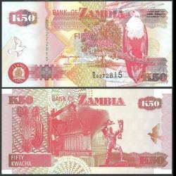 ZAMBIE - Billet de 50 Kwacha - 1992