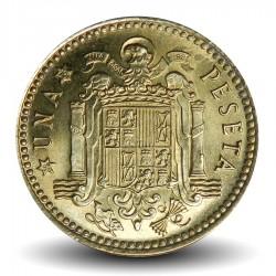 ESPAGNE - PIECE de 1 Peseta - Francisco Franco - 1966 Km#796