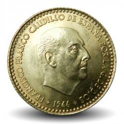 ESPAGNE - PIECE de 1 Peseta - Francisco Franco - 1966