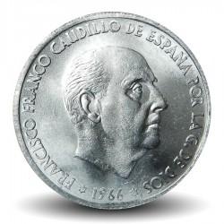 ESPAGNE - PIECE de 50 Centimos - Francisco Franco - 1966
