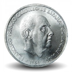 ESPAGNE - PIECE de 50 Centimos - Francisco Franco - 1966