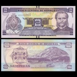 HONDURAS - Billet de 2 Lempiras - 12.06.2014