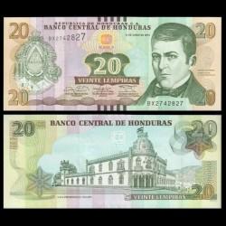 HONDURAS - Billet de 20 Lempiras - 12.06.2014