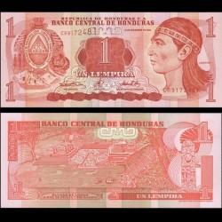 HONDURAS - Billet de 1 Lempira - 14.12.2000