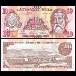 HONDURAS - Billet de 10 Lempiras - 12.06.2014