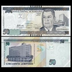 HONDURAS - Billet de 50 Lempiras - 01.03.2012