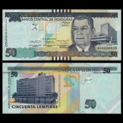 HONDURAS - Billet de 50 Lempiras - 12.06.2014