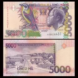 SAO TOMÉ-ET-PRINCIPE - Billet de 5000 Dobras - 26.08.2004