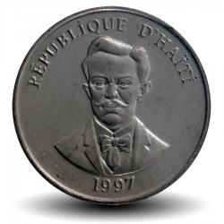 HAITI - PIECE de 5 Centimes - Charlemagne Peralte - 1997