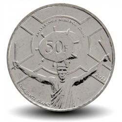 BURUNDI - PIECE de 50 Francs - Joueur de tambour - 2011 Km#22