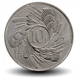 BURUNDI - PIECE de 10 Francs - Feuilles de Bananier - 2011