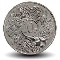 BURUNDI - PIECE de 10 Francs - Feuilles de Bananier - 2011 Km#21