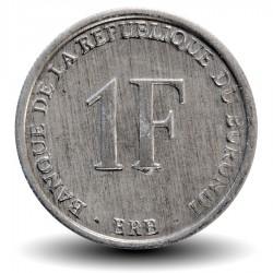 BURUNDI - PIECE de 1 Franc - Armoiries du Burundi - 1980 Km#19